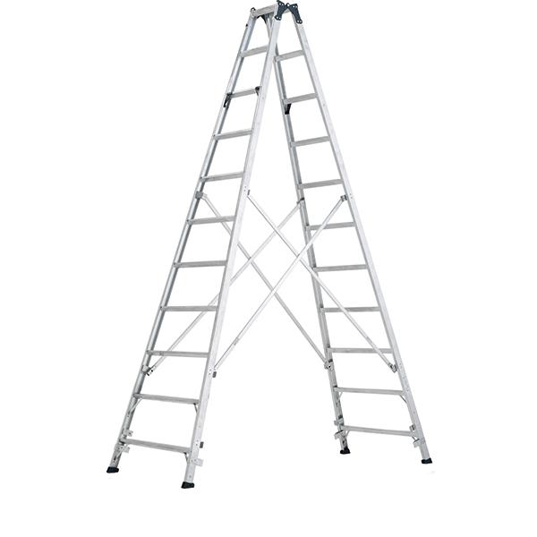【送料無料】ステップ幅広専用脚立 3.6m MXB-360F