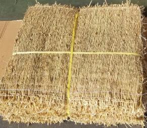【送料無料】★法人様限定★ かます 2号 叺 15枚稲わらを編んだムシロを加工した袋【わら ワラ】