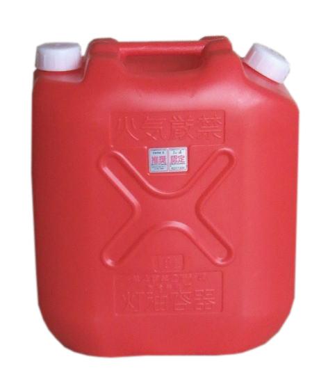 【送料無料!】プラスチック製灯油缶18L(赤) 30個で