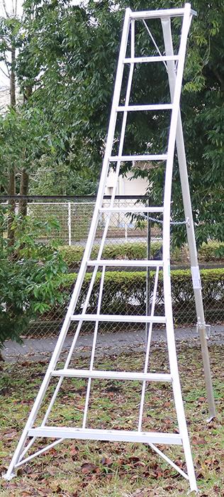 【送料無料!】園芸用アルミ三脚9尺KWX-270 270cm 2.7m【メーカー直送の為代引き発送及び日時指定は出来ません】