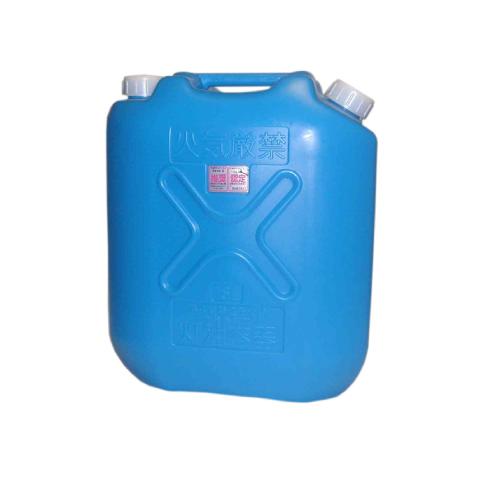 【送料無料!】プラスチック製灯油缶18L(青) 30個で