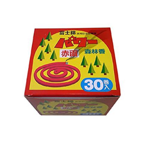 送料無料 パワー森林香 赤色 30巻入 2個セット 海外 売れ筋ランキング