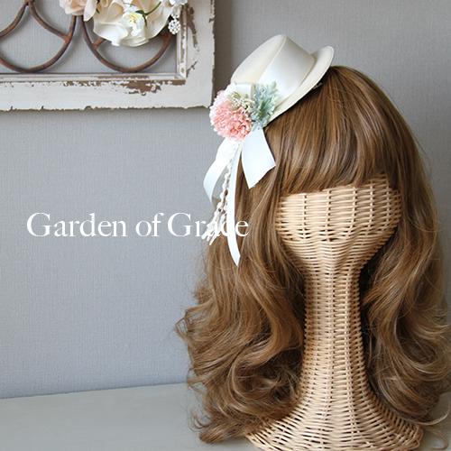 すぐにお届け☆【造花のヘッドドレス】【即納】ウエディングヘッド