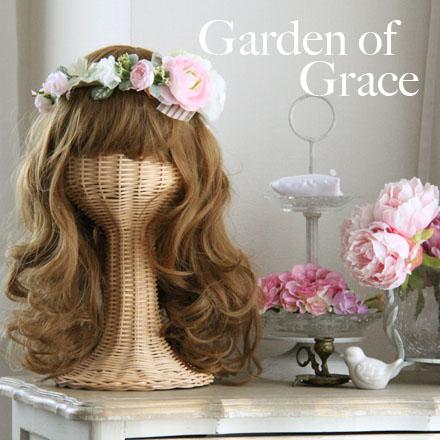 花冠 調節自由 ヘッドドレス ナチュラル ピンク シルクフラワー 薔薇 造花 花輪 ヘッドリース ウエディングドレス 結婚式 二次会ドレス ガーデンウエディングウエディング 花冠 はなかんむり 花冠 はなかんむり