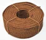 パーム三子ロープ 太さ約9mm 長さ約300m  【天然繊維/メーカー直送/送料無料】