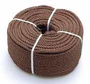 エイコーニュー棕梠ロープ(ポリエチレン) 太さ約12mm長さ約200m  【メーカー直送/送料無料】