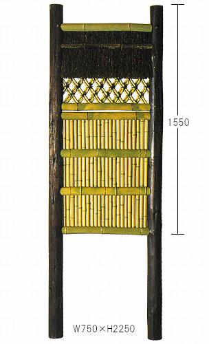 丸太三河垣W600×2250