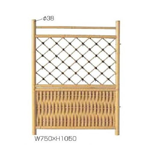 人工竹二段枝折戸750×1050
