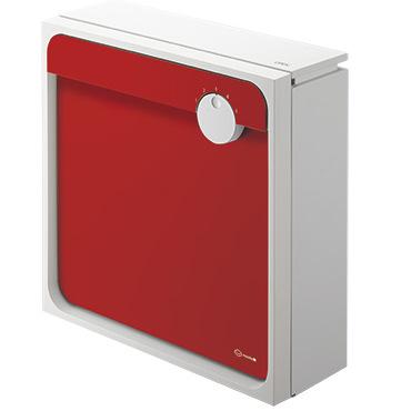 【郵便ポスト】Qual(クオール) 大型郵便物対応/上入前出/壁付防滴タイプ/送料無料