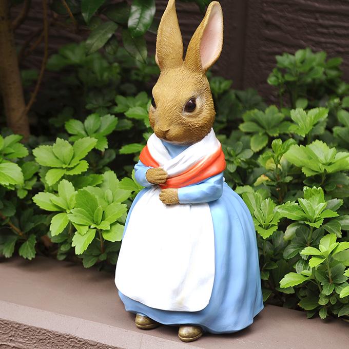 ジョゼフィン (ピーターラビットのお母さん) 絵本 雑貨 置物 うさぎ グッズ 母親 映画 人気 ラビット ママ ウサギ キャラクター オブジェ オーナメント 童話 物語 お子様 なつかしい