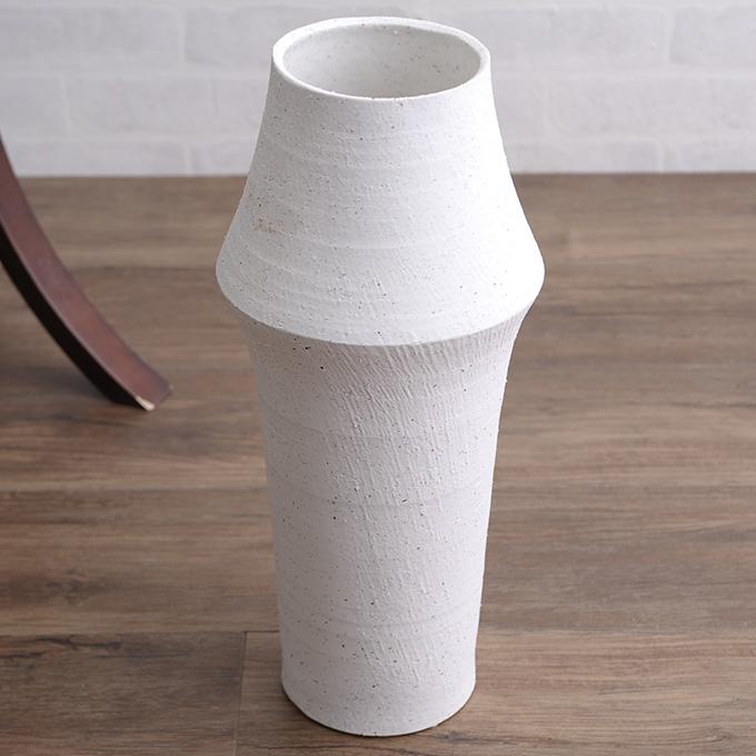 【ポイント5倍c】 和菓子のような 和風 花器 筒形M 陶器 花瓶 フラワーベース 活け花 生け花 和室 玄関 客室 客間 活花 生花 華道 日本 プランターベース