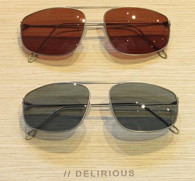 DELIRIOUS eyewear デリリオウス アイウェア 17ssAERIAL サングラス