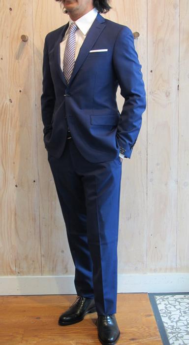 30%バーゲン!PAOLONI パオローニ 17ssロイヤルブルーウールスーツ【A540129A-20】