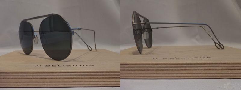 DELIRIOUS eyewear デリリオウス アイウェア 【LOOSE SMALL//GREEN 80LOGR6SM】