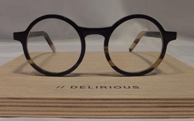 DELIRIOUS eyewear デリリオウス アイウェア BUBALUS TRANSPARENT BUFFALO HORN【】