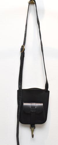 ESDE / エスデ  small mini shoulder bag / スモールミニショルダーバッグ BLACK