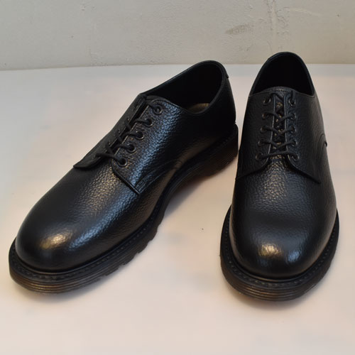 foot the coacher フットザコーチャーS.S.SHOES プレーントゥシューズBLACK EMBOSSED【FTC1712001EMBOSSED】