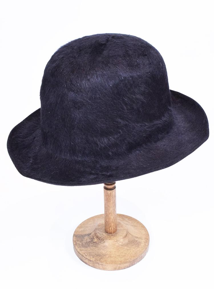 40%バーゲンプライス!RENHARD PLANK レイナードフランク ラビットファー ソフト帽ブラック