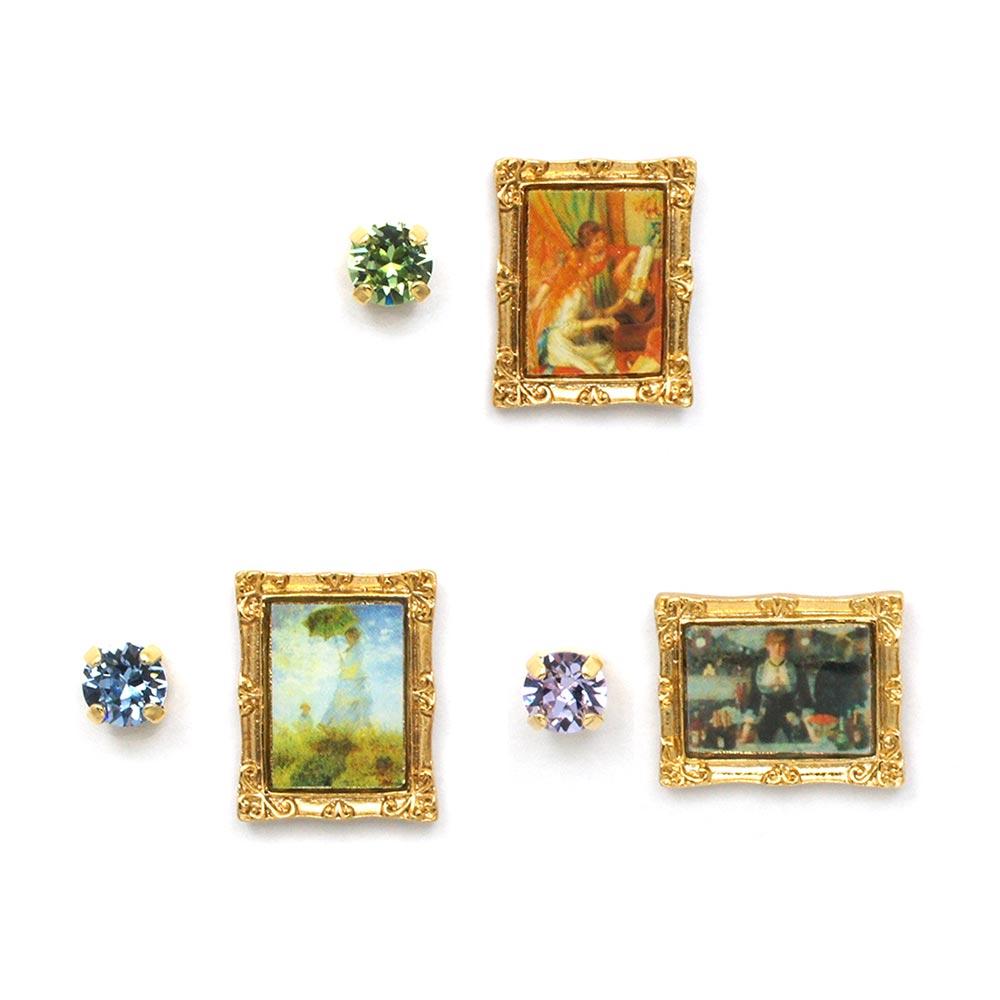 世界の名画III 安売り ピアス:gargle アウトレットセール 特集 ガーグル