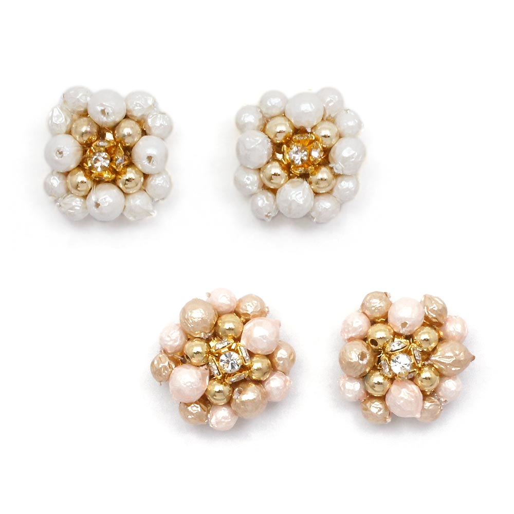 pearl nuts lll 低価格化 お歳暮 ゾーラ ピアス:zoule