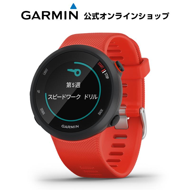 ForeAthlete 45 Lava Red スマートウォッチ ランニングウォッチ GPSウォッチ トレーニング 腕時計 デジタル