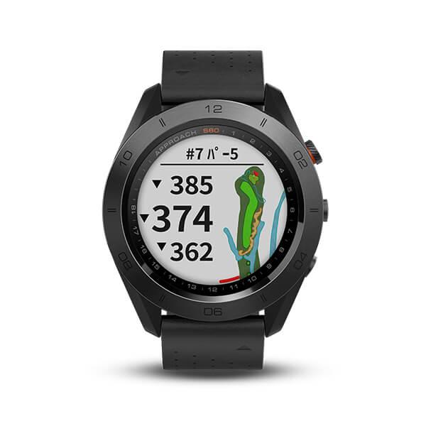 GARMIN ガーミン ApproachS60 Ceramic Approach S60 アプローチ GPS ゴルフ コースマップ スイング ショット追跡 高低差情報