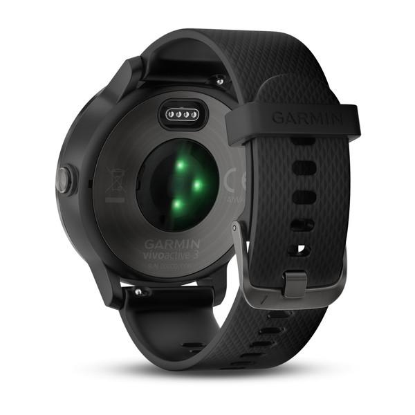 GARMIN ガーミン vivoactive3 Black Slate 光学式心拍計搭載 タッチパネル式 GPSスマートウォッチ