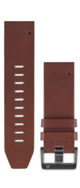 QuickFitバンド 22mm Brown Leather