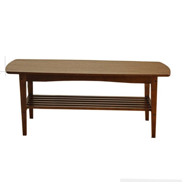 木製リビングテーブル 幅105cm ローテーブル ちゃぶ台 コーヒーテーブル サイドテーブル センターテーブル 木目調 ナチュラルテイスト エルダー 【送料込み】