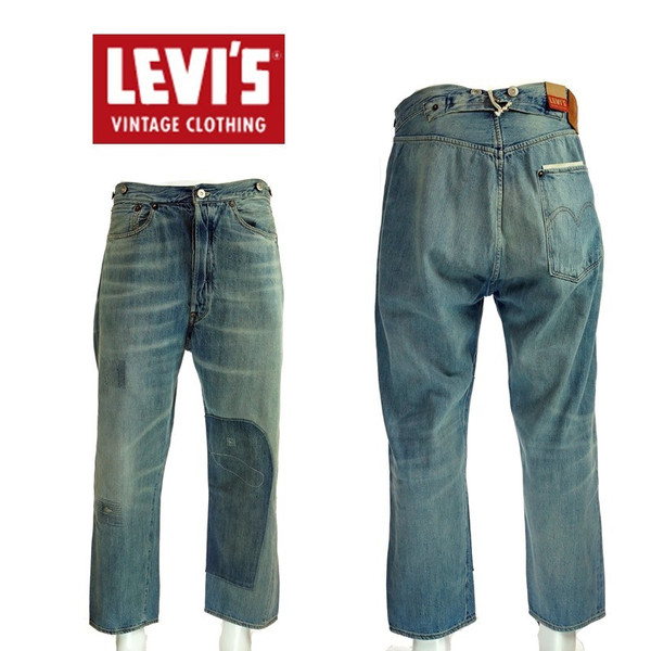 LEVI`S VINTAGE CLOTHING リーバイスヴィンテージクロージング 1890 XX501 Jeans Back Stop 90501-0010