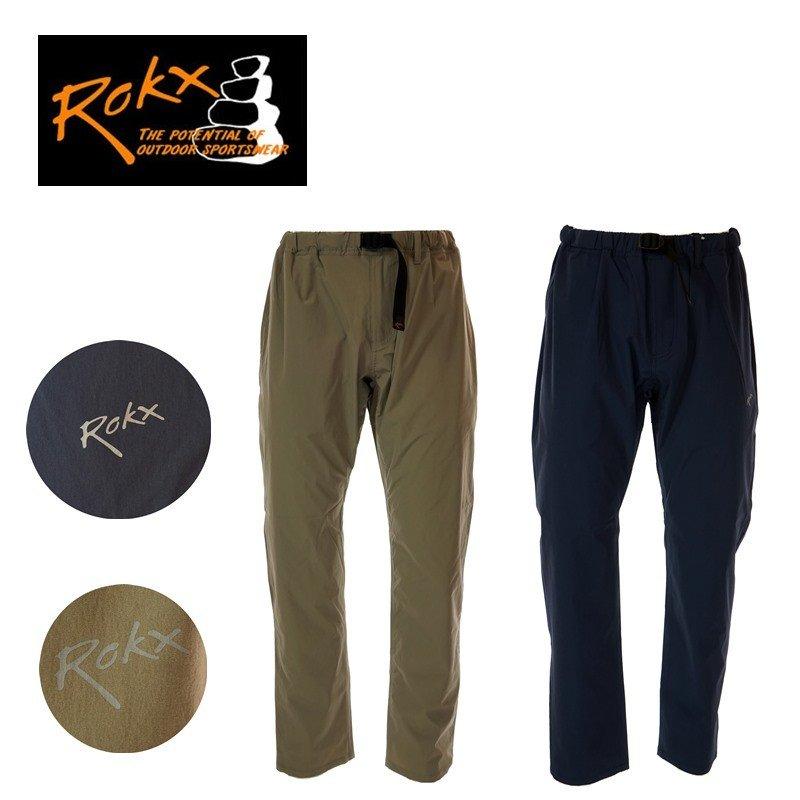 ROKX ロックス RXMS191025 TRVELYTE PANT CHINO/INDIGO ナイロン/ポリウレタン メンズパンツ