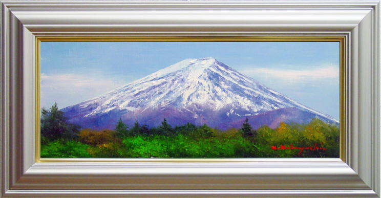 小林幸三『富士』油絵・油彩画WF3