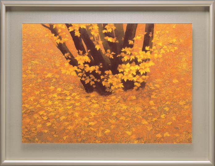 東山魁夷『行く秋』彩美版プレミアム 復刻絵画