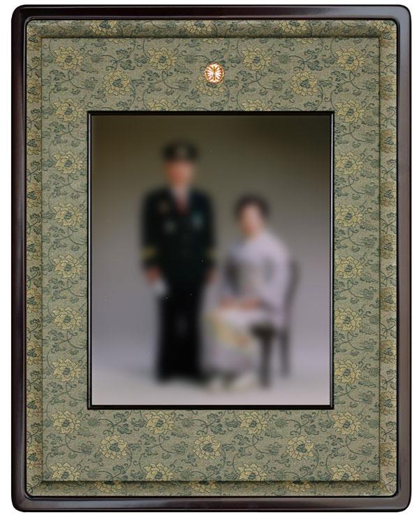 受賞記念写真用額縁【四ツ切】高級紫檀椽 25タイプ