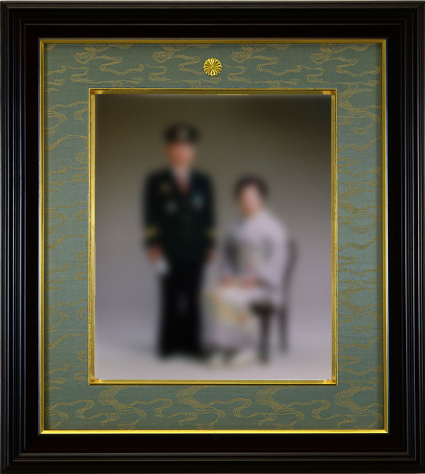 受賞記念写真用額縁【四ツ切】慶賀 35タイプ