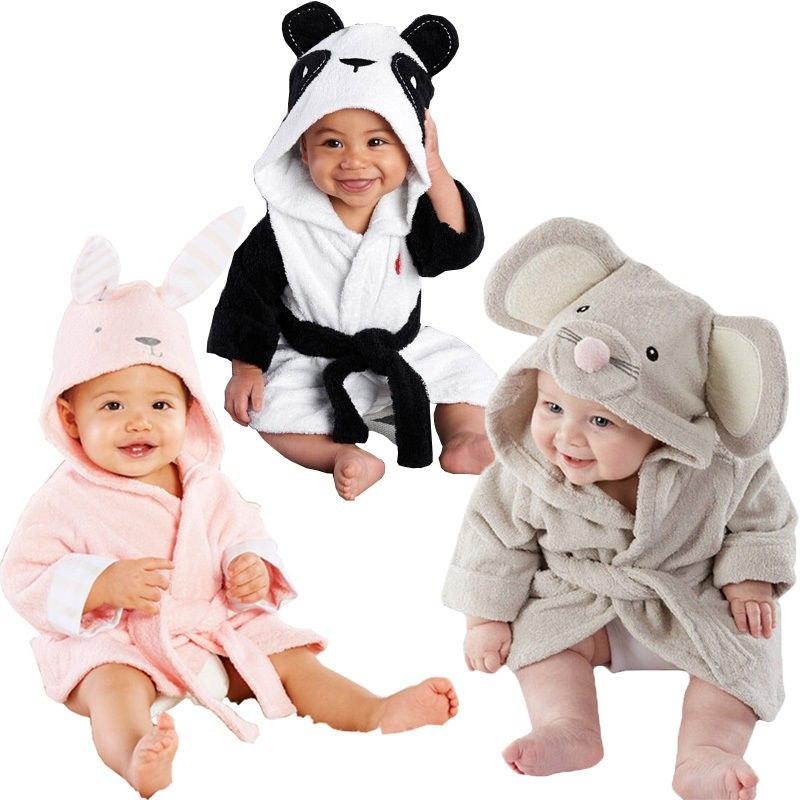 嬉しい宅急便送料込み 出産祝いやギフトに喜ばれます 卸売り キッズ バスローブ お風呂 アニマル 子ども うさぎ ねずみ ベビー お買い得 ぱんだ 動物