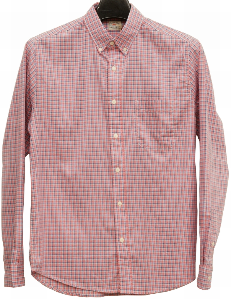 ふるさと割 華やかで上品な印象のボタンダウンシャツ 在庫各1のみ FAHERTY BRAND ファリティ ブランド Laguna ボタンダウン シャツ Shirt 送料無料/新品 Down ブルー メンズ x あす楽 ローズ Button