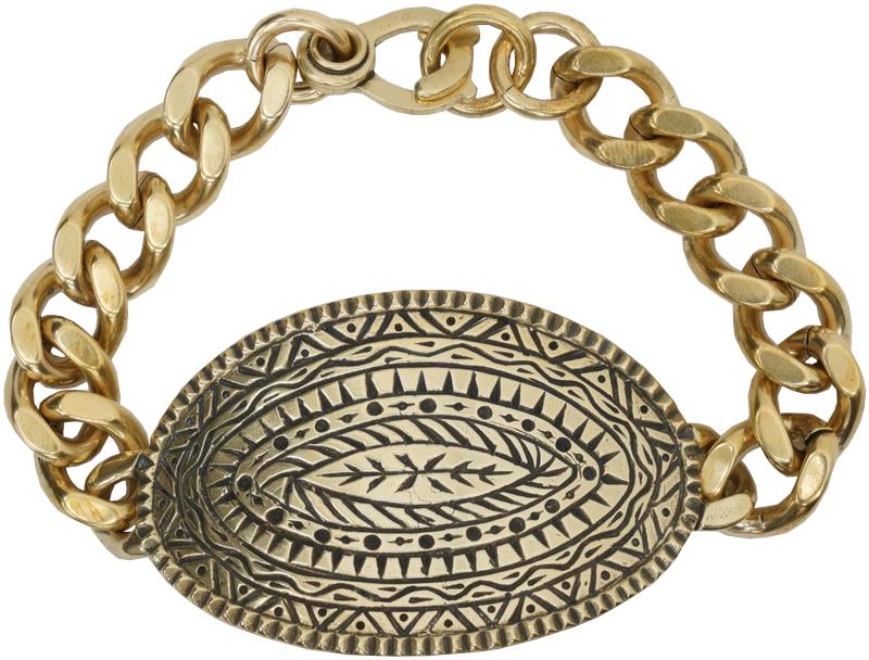 LHN Jewelry(エルエイチエヌ ジュエリー) ハンドメイド Dendera ブレスレット 真鍮製 Bracelet Brass 【あす楽】