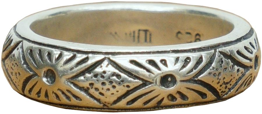 LHN Jewelry(エルエイチエヌ ジュエリー) ハンドメイド Yates リング スターリングシルバー アメリカ製 メンズ silver ring 【あす楽】