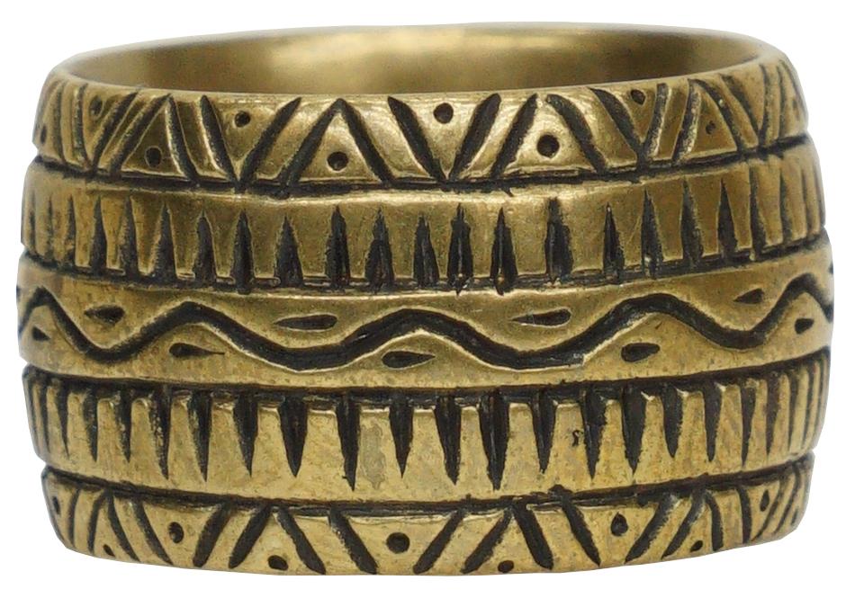 LHN Jewelry(エルエイチエヌ ジュエリー) アメリカ製 ハンドメイド Dendera リング メンズ レディース プレゼント 真鍮 Ring Brass 【あす楽】