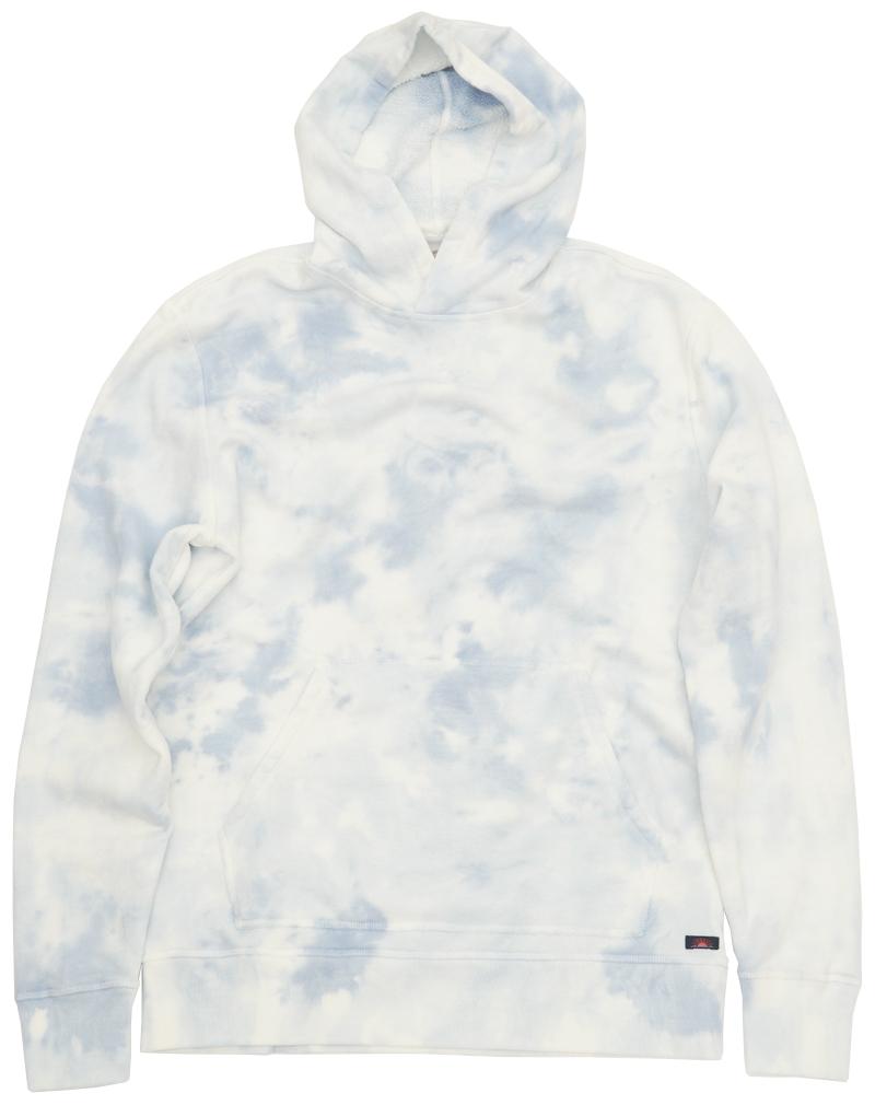 FAHERTY BRAND (ファリティ ブランド) タイダイ フーディ パーカ ブルー x ホワイト 絞り染め L メンズ Tie Dye Hoodie Pacific Mist 【あす楽】