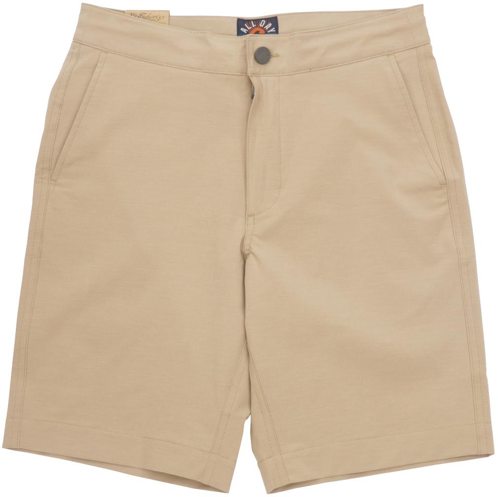 FAHERTY BRAND (ファリティ ブランド) All Day ショーツ リサイクル素材使用 カーキ メンズ Shorts Khaki 【あす楽】