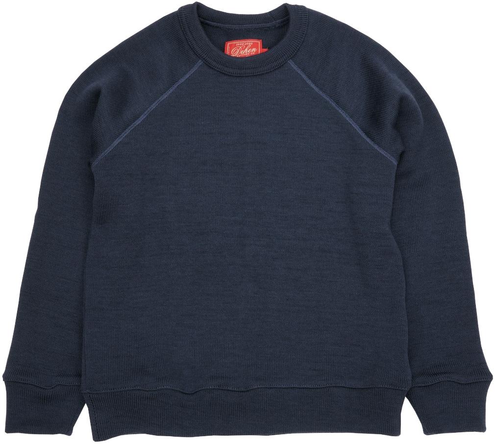 創業100周年限定カラーの希少セーター 在庫各1のみ Dehen 1920 デーヘン メイルオーダー ラグラン クルーネック セーター ブルー 商品追加値下げ在庫復活 Sweater Neck Centennial アメリカ製 Blue Raglan Crew メンズ あす楽