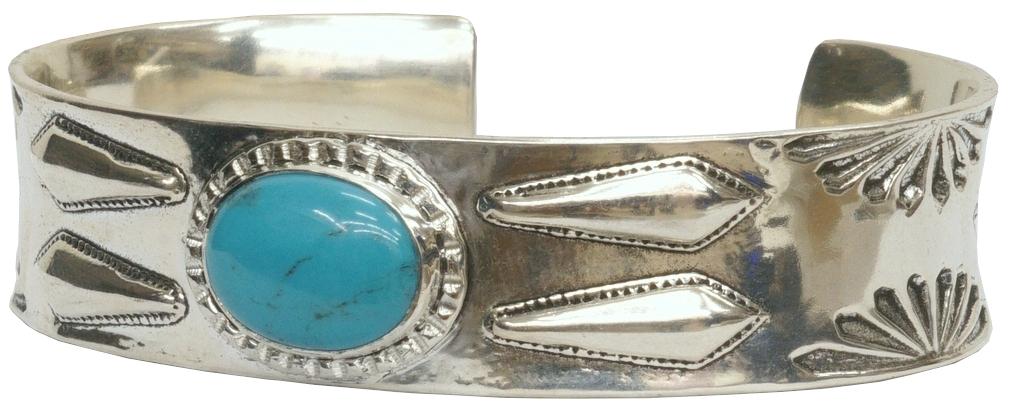 シルバーと美しいターコイズの雰囲気が素晴らしい逸品 供え LHN Jewelry エルエイチエヌ 品質検査済 ジュエリー ハンドメイド ナバホ Cuff Silver Navajo スターリングシルバー製 あす楽 バングル