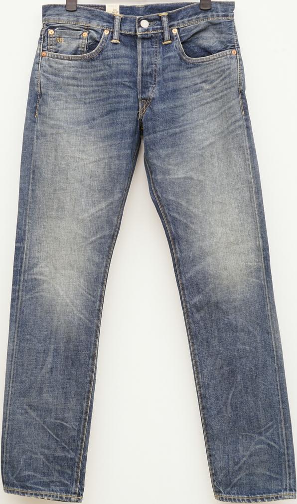(ダブルアールエル) RRL 米国製デニム地使用 スリムフィット Memphis セルビッジ ジーンズ メンズ Slim Fit Selvedge Jean 【あす楽】