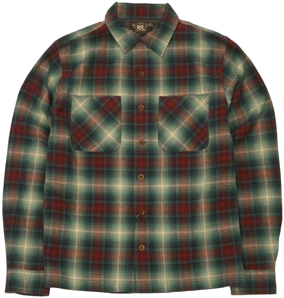 21年最新のチェックシャツを入荷致しました ダブルアールエル RRL タータン キャンプ シャツ チェック あす楽 メンズ shirt 激安格安割引情報満載 Camp レッド 店舗 Tartan Red
