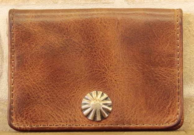 (ダブルアールエル) RRL コンチョ ウォレット コインケース 小銭いれ イタリアンレザー使用 ベジタブルタンニンなめし 【あす楽】