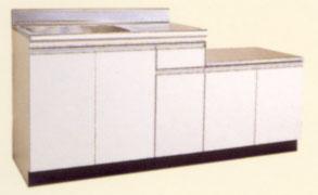 *セリカ/CELICA*WB-170H[L/R] ガス台付流し台 [間口170cm]