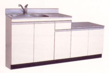 *セリカ/CELICA*WBD-170H[L/R] ガス台付流し台 [間口170cm]