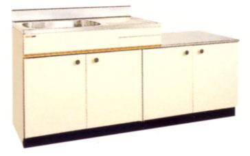 *セリカ/CELICA*CK-180K[L/R] ガス台付流し台 [間口180cm]